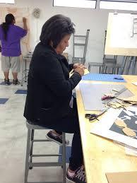 tohono o odham community college gets top notch art degree program christina garcia tohono o odham discovered she had a hidden talent when she