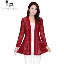 <b>Women lace</b> coat <b>2019 Summer</b> Female Net yarn hollow out Sun ...