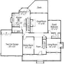 Classic American Country Home   AD   nd Floor Master Suite    Floor Plan
