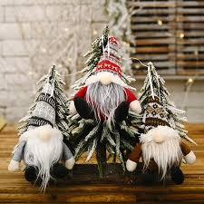 Koszal <b>Christmas</b> Gnome Ornaments <b>Knit</b> Hat Spherical <b>Forester</b> ...