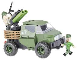 Купить <b>конструктор</b> пластиковый <b>COBI Армейский пикап</b> Armored ...