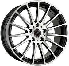 """Alloy Wheels 18"""" <b>Wolfrace</b> Eurosport Turismo Black For VW Touareg ..."""