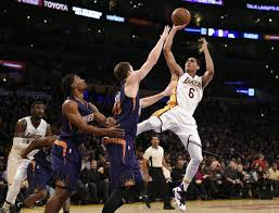 Image result for images of lakers vs. warriors 2016