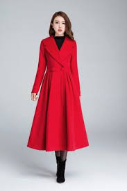 <b>2016</b> Winter <b>New Fashion</b> Notched Lapel Coat with Bow Tie <b>Belt</b> ...
