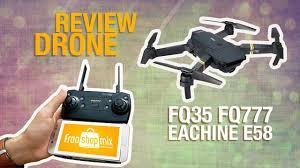 Review <b>Drone FQ35</b> FQ777 - Eachine E58 - YouTube