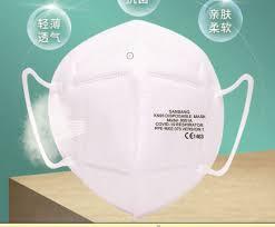<b>KN95 respirator</b> - 9051A - Hongkong Medi - valveless / double filter ...