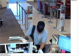 clearwater police nab suspect just minutes after bank robbery this man held up a wells fargo bank on tuesday afternoon surveillance image
