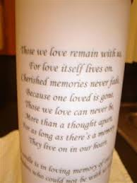 """Anyone know any good POEMS or QUOTES for the """"in remembrance"""" page ... via Relatably.com"""