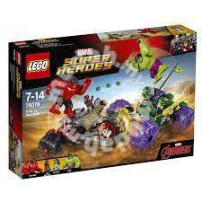<b>Lego Marvel Super Heroes</b> Hulk Vs Red Hulk <b>76078</b> - Hobby ...