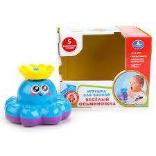 <b>Игрушка</b> для ванной – Осьминог, озвученный и разбрызгивает ...