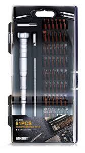 Tools & Screws : Accessory : Tool : <b>61</b> Piece Electronic Tool Kit w ...