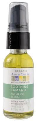 Aura Cacia <b>Soothing Tamanu Facial</b> Oil Serum <b>Organic</b> 30ml: 99757 ...