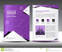 business brochure flyer template in a size purple cover design business brochure flyer template in a4 size purple cover design