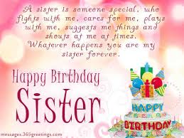 sister birthday wishes - Alegoo.com