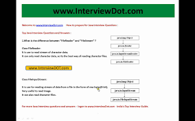 core java interview what is the difference between filereader and core java interview what is the difference between filereader and fileinputstream