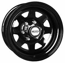 Купить Колесный диск Dotz Dakar <b>7x16</b>/5x165 D122.<b>5</b> ET8 Black ...