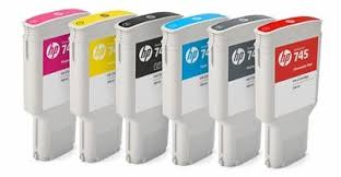 <b>HP 745</b> Ink Cartridges for <b>DesignJet</b> Z2600/Z5600 (300mL)- LexJet ...