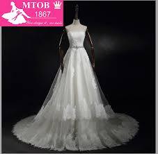 2015 Vestido De <b>Casamento</b> Strapless <b>Beading</b> Sash Lace Vintage ...
