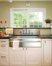 apron front stainless steel sinks renovated