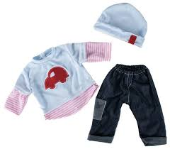 <b>Loko Toys Одежда для</b> куклы мальчика Baby Pink 98240 — купить ...