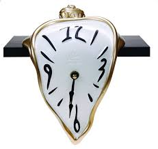 Image result for dali's clock