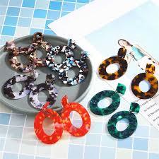 Fashion <b>Leopard Earrings</b> Acetate <b>Earrings</b> Atmosphere ...