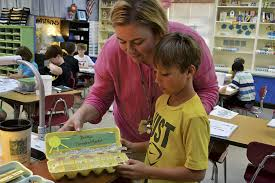 Image result for third grader and teacher