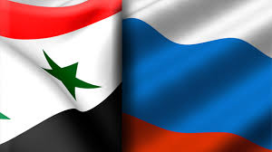 Image result for SYRIA RUSSIA FLAG