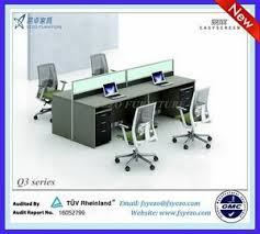 cheap office workstation for 4 people cheap office workstations