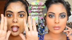 camera ready foundation concealer contouring color correction tutorial