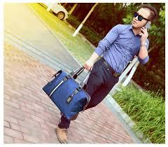 REREKAXI Large Capacity <b>Men's Travel Bag Women</b> Waterproof ...