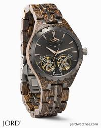 <b>Mens Wooden Watches</b> by JORD