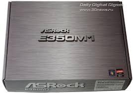 Обзор <b>материнской платы ASRock</b> E350M1 на чипсете AMD A50M