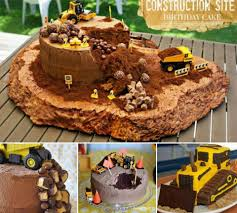 Construction Birthday Party Decorations Construction Cake Decorations Cake