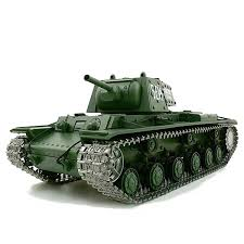 <b>Радиоуправляемый танк Heng</b> Long Russia КВ-1 Pro - 3878-1 ...