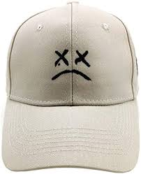 Home <b>Fashion</b> DIY Sad Boys Adjustable Hat Crying Face ...