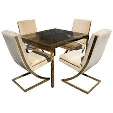 metro retro furniture mcm furniture milo baughman milo baughman thayer coggin brass dining brass furniture