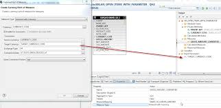 analytical view input parameters and or variables now in order to call this view from abap via adbc you can pass the paramters in the sql select statement which is basically the same when doing a data
