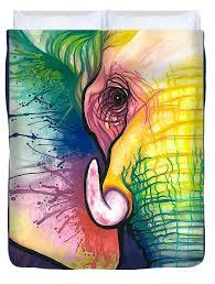 <b>Lucky Elephant</b> Spirit <b>Duvet</b> Cover for Sale by Sarah Jane