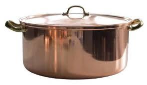 <b>Кастрюля</b> Copper Crafts медная с <b>крышкой 24</b> см 5,4 л — купить ...