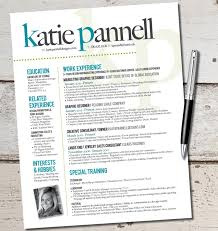 the katie lyn signature resume template design by vivifycreative resume ideas