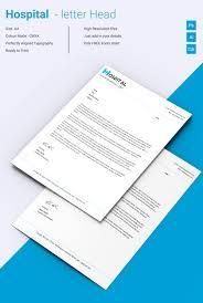 letterhead template 14 word pdf format fabulous hospital letterhead template