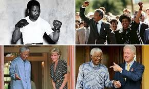 Nelson Mandela, a life in pictures: From prisoner to president | Daily ...