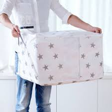 Online Shop Portable container storage box <b>non</b>-<b>woven</b> clothes ...