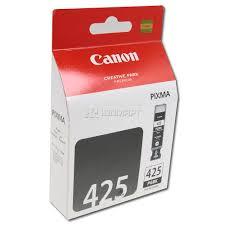 Инструкция по заправке картриджа <b>Canon PGI-425 черный</b> пигмент