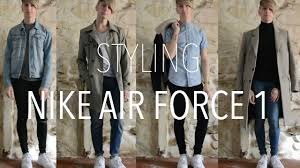 styling nike air force 1 charlie logan air force 1 style