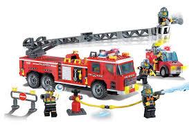 <b>Конструктор Enlighten Brick Пожарная</b> машина 908 купить в ...