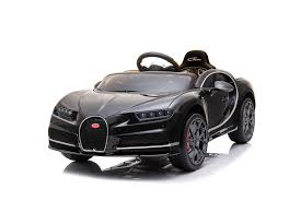 <b>Детский электромобиль Harley</b> Bella Bugatti Chiron 2.4G - BLACK ...