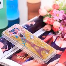 Full Soft Anti-falling Sand Transparent Mobile Phone Case for LG Q8