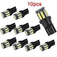 <b>10pcs W5W T10</b> 168 <b>LED</b> Bulb Car Interior Light for Mitsubishi ...